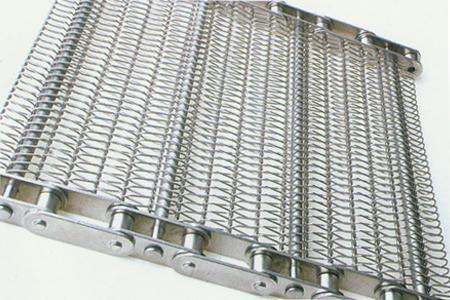 不锈钢链条网带的冲孔方法